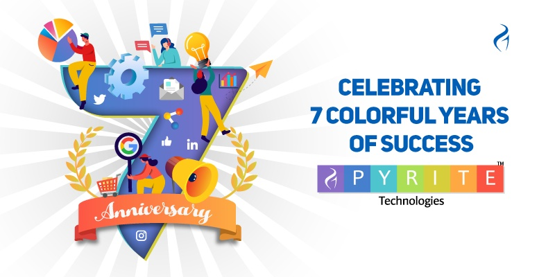 7th Anniversary of Pyrite Technologies – Celebrating 7 Colorful Years of Success!